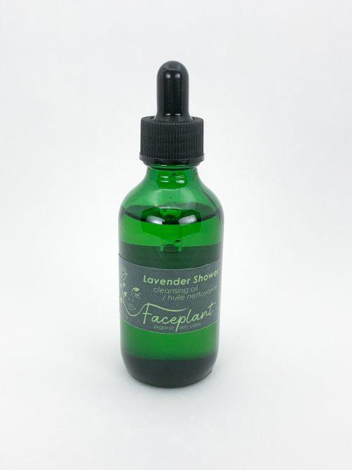 lavender shower cleansing oil